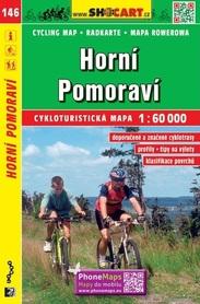 146 GÓRNE MORAWY CZECHY mapa turystyczna rowerowa 1:60 000 SHOCART