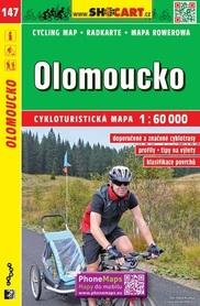 147 OŁOMUNIEC CZECHY mapa turystyczna rowerowa 1:60 000 SHOCART