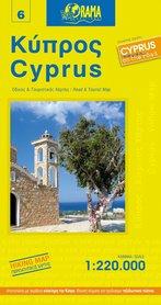 CYPR mapa samochodowa 1:220 000 ORAMA
