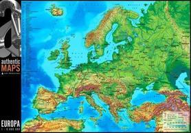 EUROPA MAPA 3D MAPCARDS