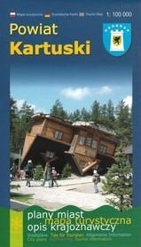 POWIAT KARTUSKI mapa turystyczna 1:100 000 wyd.REGION