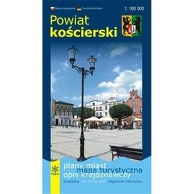 POWIAT KOŚCIERSKI mapa turystyczna 1:100 000 wyd. REGION