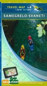 SAMEGRELO - SVANETI GRUZJA mapa turystyczno-samochodowa 1:200 000 GEOLAND