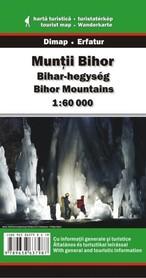 MUNTI BIHOR mapa turystyczna 1:60 000 DIMAP SZARVAS