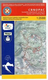 CRNOPAC mapa turystyczna 1:25 000 wyd. HGSS