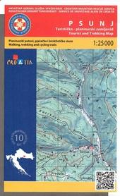 PSUNJ mapa turystyczna 1:25 000 wyd. HGSS