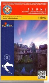SLUNJ mapa turystyczna 1:25 000 wyd. HGSS