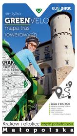 NIE TYLKO GREEN VELO KRAKÓW I OKOLICE POŁUDNIE mapa rowerowa EUROPILOT