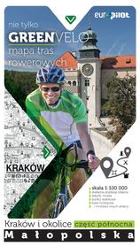 NIE TYLKO GREEN VELO KRAKÓW I OKOLICE PÓŁNOC mapa rowerowa EUROPILOT