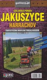 JAKUSZYCE SZKLARSKA PORĘBA HARRACHOV kieszonkowa mapa laminowana STUDIO PLAN