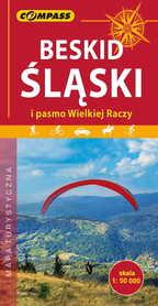 BESKID ŚLĄSKI mapa turystyczna 1:50 000 COMPASS 2019