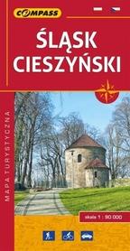 ŚLĄSK CIESZYŃSKI mapa turystyczna 1:90 000 COMPASS 2017