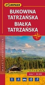 BUKOWINA TATRZAŃSKA BIAŁKA TATRZAŃSKA mapa turystyczna COMPASS 2017