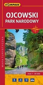 OJCOWSKI PARK NARODOWY LAMINOWANA mapa turystyczna 1:20 000 COMPASS 2017