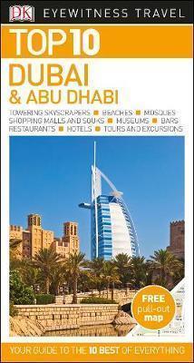 DUBAI I ABU DHABI przewodnik TOP 10 DK ang 2017