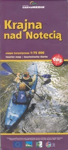 KRAINA NAD NOTECIĄ mapa turystyczna 1:75 000 CartoMedia