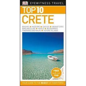 KRETA CRETE przewodnik TOP 10 DK 2018