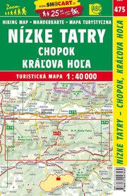 NIŻNE TATRY Chopok Karlova Hola mapa turystyczna 1:40 000 SHOCART 2017