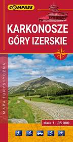 KARKONOSZE GÓRY IZERSKIE mapa turystyczna 1:35 000 COMPASS