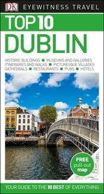 DUBLIN przewodnik turystyczny z mapą TOP10 DK 2018