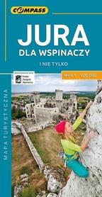 JURA DLA WSPINACZY i nie tylko mapa turystyczna 1:100 000 COMPASS 2018