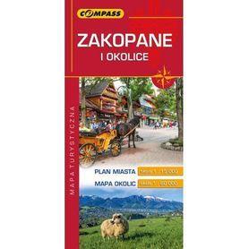 ZAKOPANE I OKOLICE mapa turystyczna COMPASS