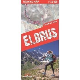 ELBRUS 1:50 000 mapa trekkingowa Trekking Map TerraQuest