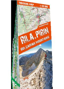 RIŁA I PIRYN GÓRY BUŁGARII 1:80 000 mapa trekkingowa Trekking Map TerraQuest