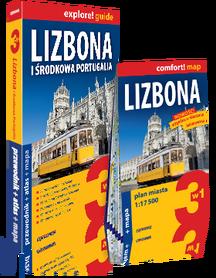 LIZBONA I ŚRODKOWA PORTUGALIA 3w1 przewodnik + atlas + mapa EXPRESSMAP 2018