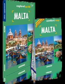 MALTA explore! guide LIGHT przewodnik z mapą EXPRESSMAP 2019