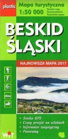 BESKID ŚLĄSKI mapa turystyczna laminowana 1:50 000 wyd. WIT 2017