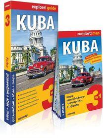 KUBA 3w1 przewodnik + atlas + mapa EXPRESSMAP 2019