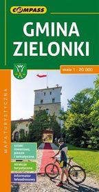 GMINA ZIELONKI mapa turystyczna 1:20 000 COMPASS 2018