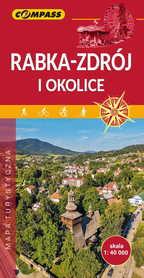 RABKA ZDRÓJ I OKOLICE mapa turystyczna 1:40 000 COMPASS 2019
