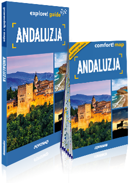 ANDALUZJA explore! guide LIGHT przewodnik z mapą EXPRESSMAP 2019