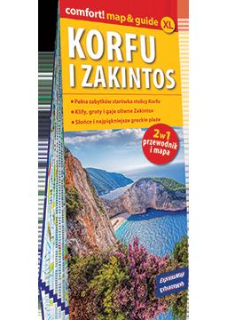 KORFU I ZAKINTOS 2w 1 przewodnik i mapa EXPRESSMAP 2018
