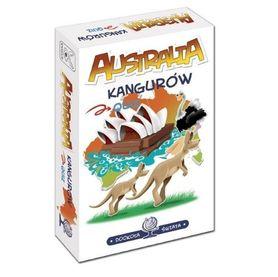DOOKOŁA ŚWIATA - AUSTRALIA KANGURÓW gra quiz KANGUR