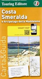 SARDYNIA PÓŁNOCNA COSTA SMERALDA - ARCHIPELAG MADDALENA mapa turystyczna 1:175 000 TOURING EDITORE