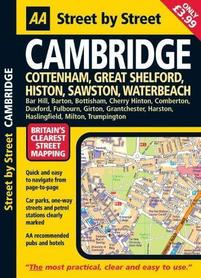 CAMBRIDGE atlas miasta Street by Street AA