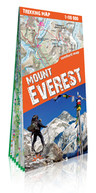 MOUNT EVEREST mapa laminowana terraQuest EXPRESSMAP 2019