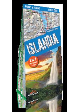 ISLANDIA 2w1 przewodnik i mapa EXPRESSMAP 2018