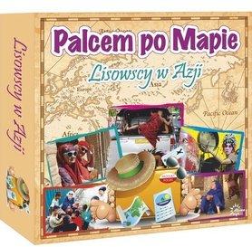 PALCEM PO MAPIE LISOWSCY W AZJI gra edukacyjna wyd. ABINO 2018