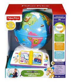 Edukacyjny globus odkrywcy - Fisher Price