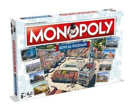 MONOPOLY POZNAŃ GRA PLANSZOWA - Winning Moves