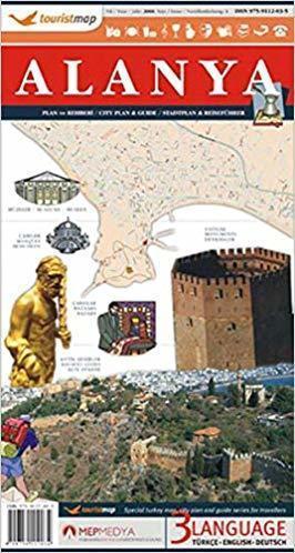 ALANYA plan miasta 1:9 000 MAPMEDYA