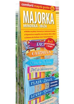 MAJORKA MINORKA IBIZA XL 2w1 przewodnik i mapa EXPRESSMAP 2018