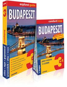 BUDAPESZT 3w1 przewodnik + atlas + mapa EXPRESSMAP 2018