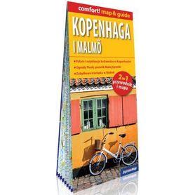 KOPENHAGA MALMO 2w1 przewodnik i mapa EXPRESSMAP