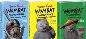 Wombat Maksymilian 3 CZĘŚCI wyd. Edipresse Książki