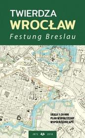TWIERDZA WROCŁAW Festung Breslau plan 1:20000 JB72